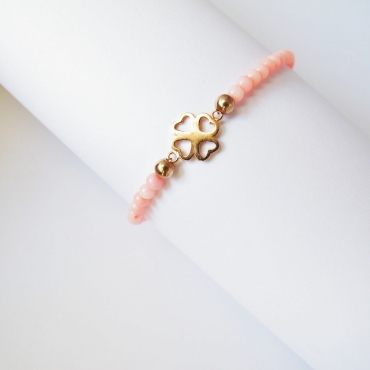 PULSERA GOOD LUCK TRBOL MINI